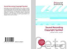 Обложка Sound Recording Copyright Symbol