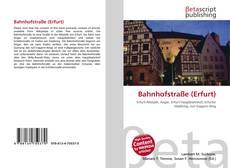 Portada del libro de Bahnhofstraße (Erfurt)