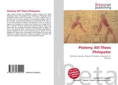 Bookcover of Ptolemy XIII Theos Philopator
