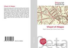 Vilayet of Aleppo的封面