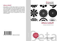 Bookcover of Alfons Lütkoff
