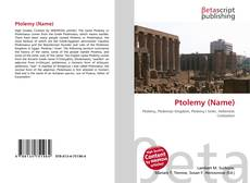 Bookcover of Ptolemy (Name)