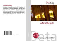 Alfons Nowacki kitap kapağı