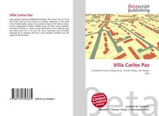 Обложка Villa Carlos Paz