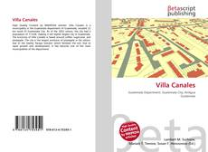 Bookcover of Villa Canales