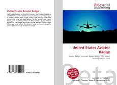 Capa do livro de United States Aviator Badge