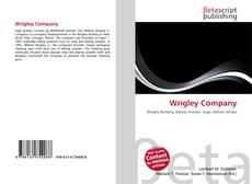 Wrigley Company的封面