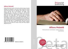 Buchcover von Alfons Petzold
