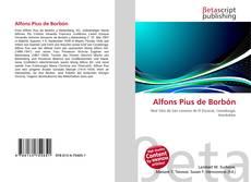 Capa do livro de Alfons Pius de Borbón