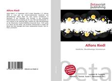 Bookcover of Alfons Riedl