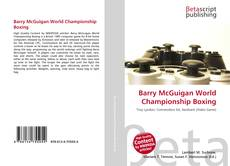 Bookcover of Barry McGuigan World Championship Boxing