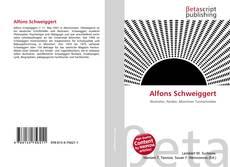 Buchcover von Alfons Schweiggert