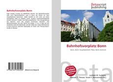 Bookcover of Bahnhofsvorplatz Bonn