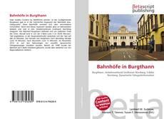 Buchcover von Bahnhöfe in Burgthann