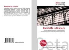 Buchcover von Bahnhöfe in Kronach