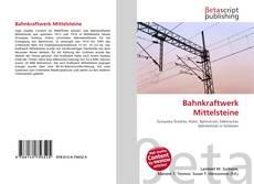 Buchcover von Bahnkraftwerk Mittelsteine