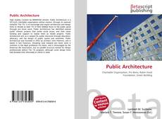 Buchcover von Public Architecture