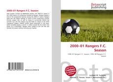 Bookcover of 2000–01 Rangers F.C. Season