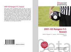 Bookcover of 2001–02 Rangers F.C. Season