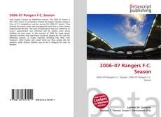 Couverture de 2006–07 Rangers F.C. Season