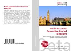 Bookcover of Public Accounts Committee (United Kingdom)