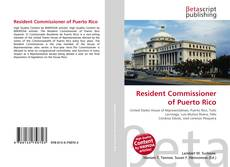 Bookcover of Resident Commissioner of Puerto Rico