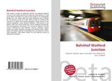Couverture de Bahnhof Watford Junction