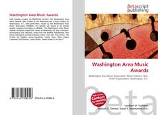 Couverture de Washington Area Music Awards
