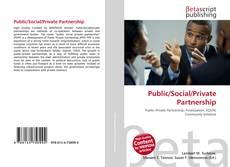 Buchcover von Public/Social/Private Partnership