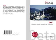 Buchcover von Weiz