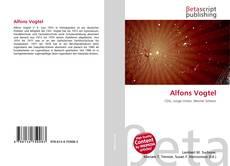 Portada del libro de Alfons Vogtel