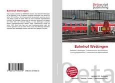 Обложка Bahnhof Wettingen