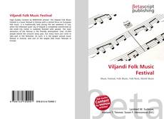 Bookcover of Viljandi Folk Music Festival