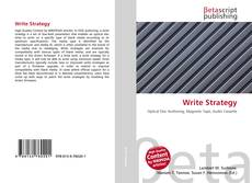 Bookcover of Write Strategy