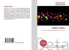 Alfons Zeller kitap kapağı