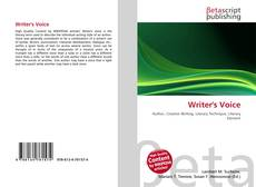 Bookcover of Writer's Voice