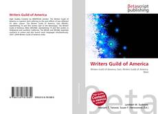 Bookcover of Writers Guild of America