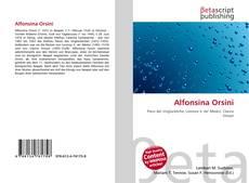 Bookcover of Alfonsina Orsini