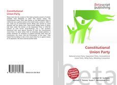 Couverture de Constitutional Union Party