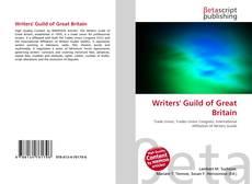 Borítókép a  Writers' Guild of Great Britain - hoz