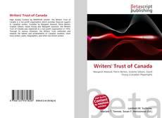 Borítókép a  Writers' Trust of Canada - hoz