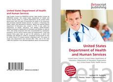 Borítókép a  United States Department of Health and Human Services - hoz