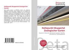 Portada del libro de Haltepunkt Wuppertal Zoologischer Garten