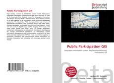 Portada del libro de Public Participation GIS