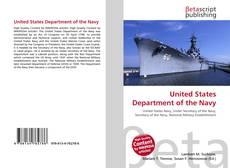Capa do livro de United States Department of the Navy