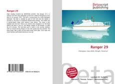 Bookcover of Ranger 29