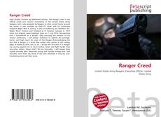 Bookcover of Ranger Creed