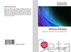 Portada del libro de Alfonso d'Avalos