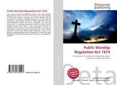 Bookcover of Public Worship Regulation Act 1874