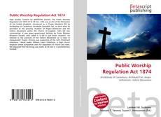 Public Worship Regulation Act 1874 kitap kapağı